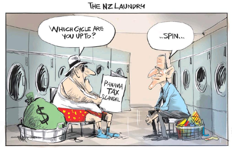 Emmerson - NZ Herald 5 April 2016 tax haven key inequality