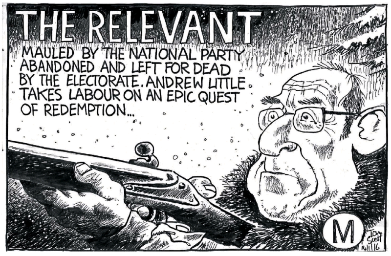Scott - Dominion Post 14 January 2016 Labour Andrew Little