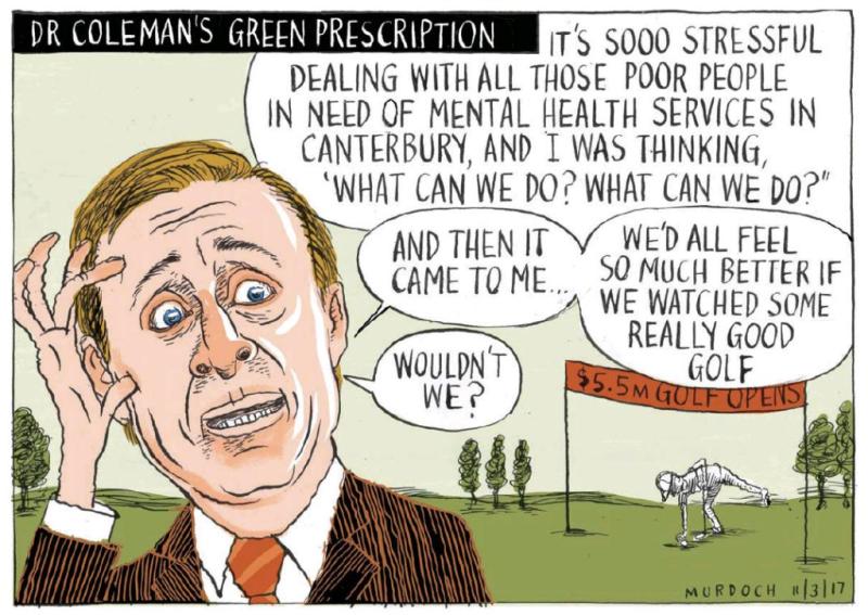 Murdoch - The Press 11 March 2017 mental health