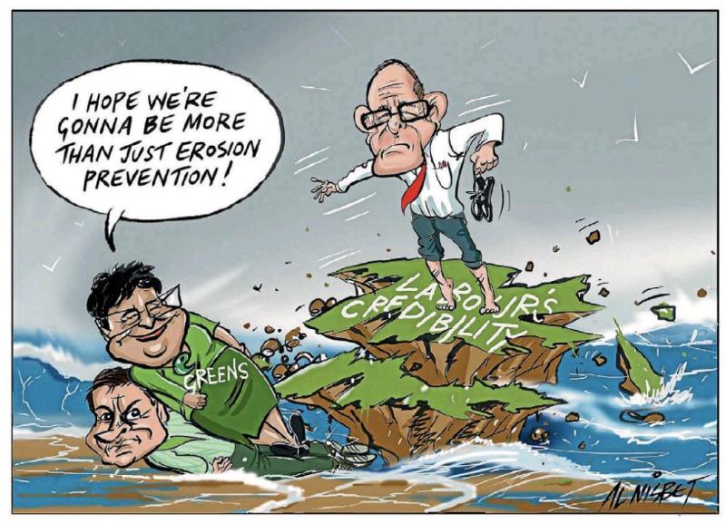 Nisbet - The Press 2 June 2016 Labour Greens
