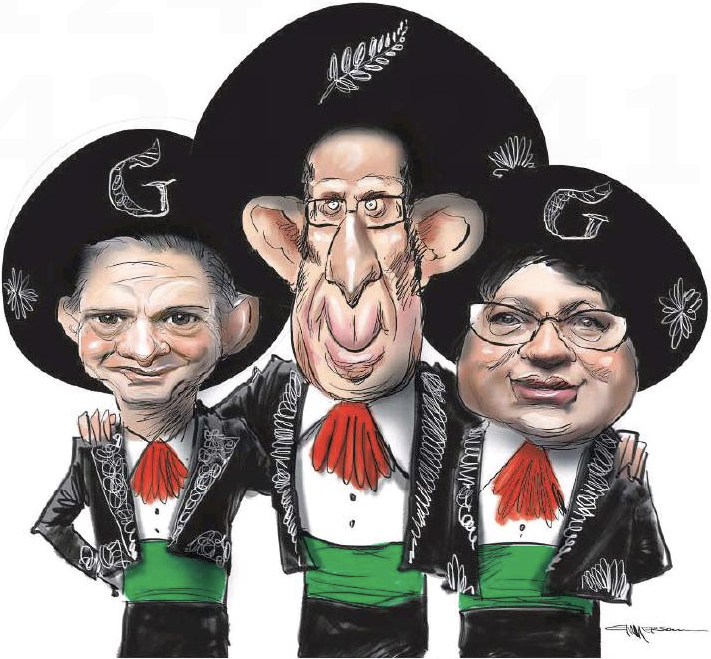 Emmerson - NZ Herald 1 June 2016 Labour Greens Little Turei Shaw