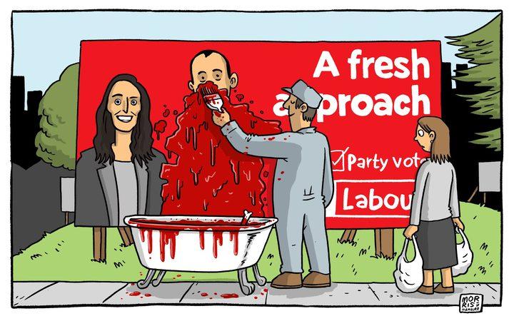 Morris - RNZ 1 August 2017 Labour Ardern