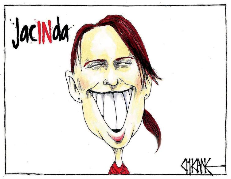 Chicane - Southland Times 27 February 2017 Jacinda Ardern Labour