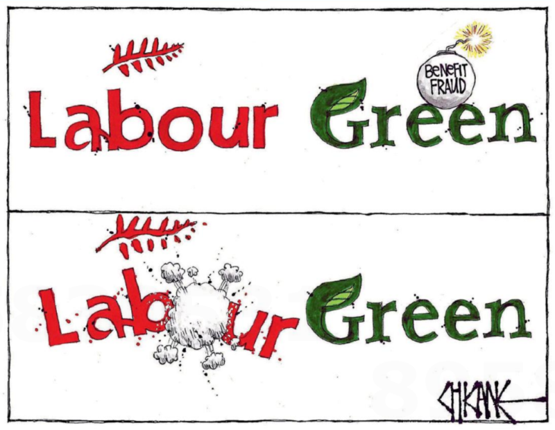 Chicane - Southland Times 1 August 2017 Labour Greens