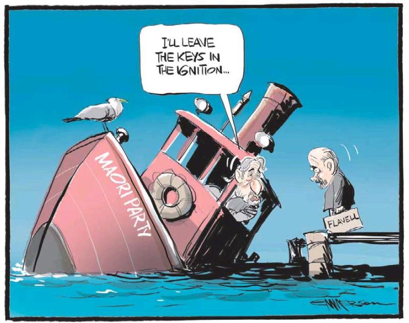 NZ Herald 3 July 2013 Maori Party Sharples Flavell