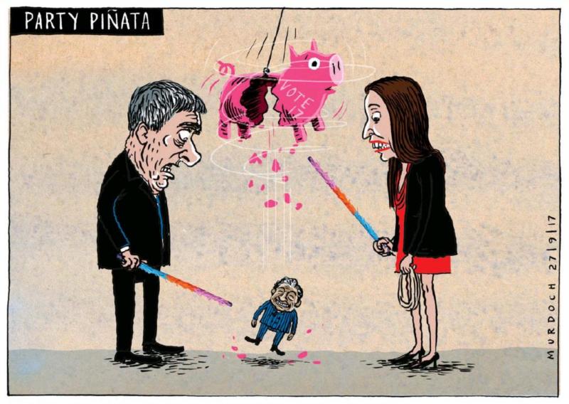 Murdoch - The Press 27 September 2017 Winston Peters coalition