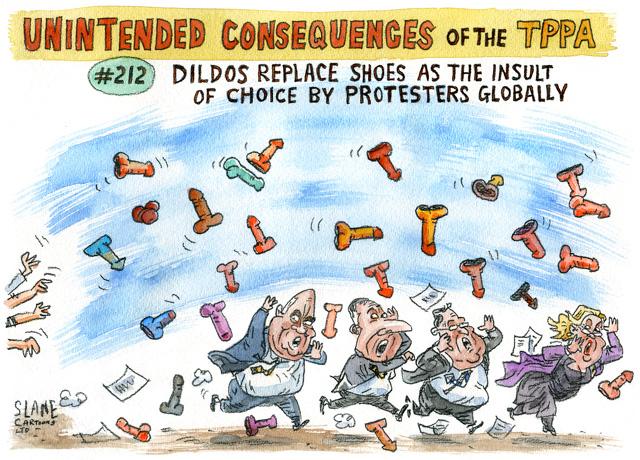 Slane - Listener 11 February 2016 TPP dildo Waitangi
