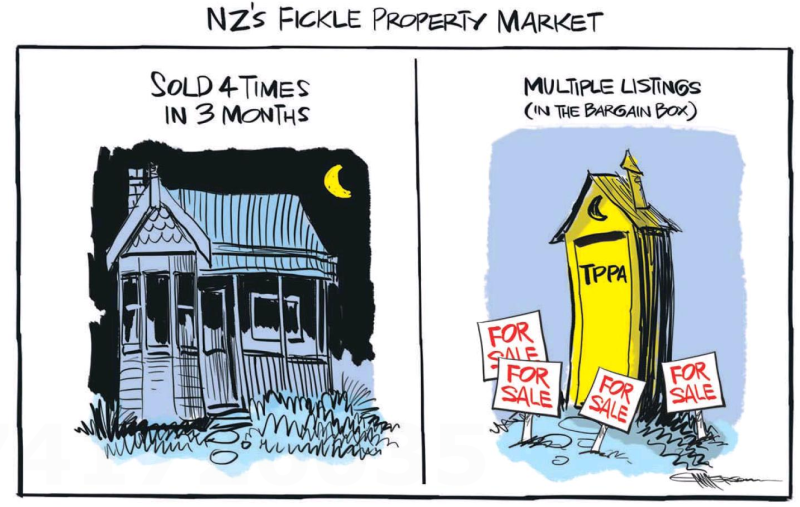 Emmerson - NZ Herald 25 August 2015 TPPA housing