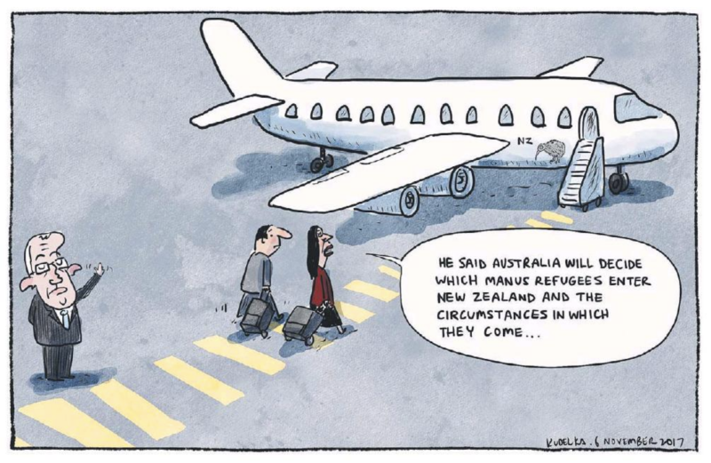 Kudelka - The Australian 6 October 2017 manua Australia