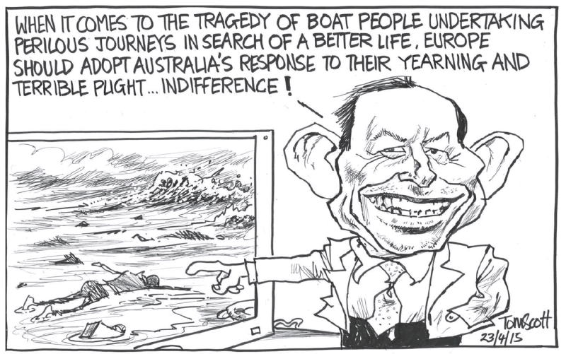 Scott - Dominion Post 23 April 2015 refugees