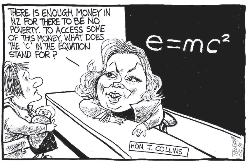Scott - Dominion Post 15 October 2016 Collins Poverty