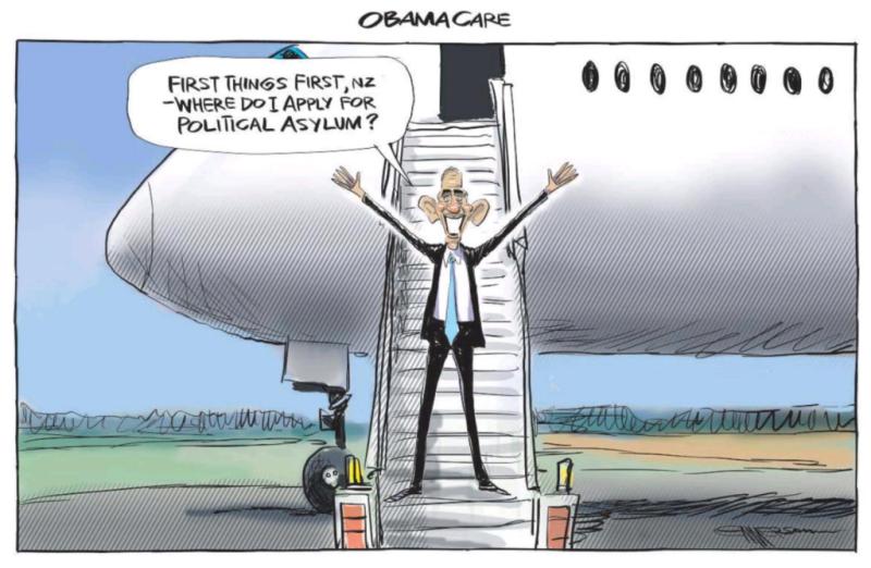 Emmerson - NZ Herald 22 March 2018 Air NZ Obama