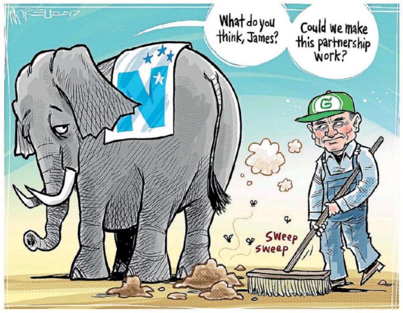Moreu - Timaru Herald 2 October 2017 Greens National election coalition
