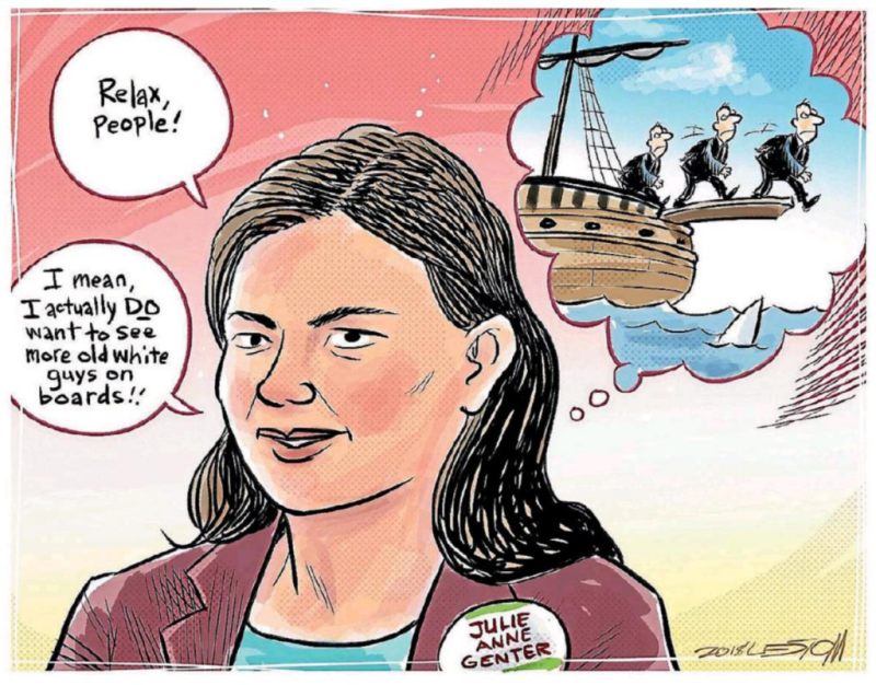 Moreu - Timaru Herald 26 March 2018 Julie Anne Genter identity politics