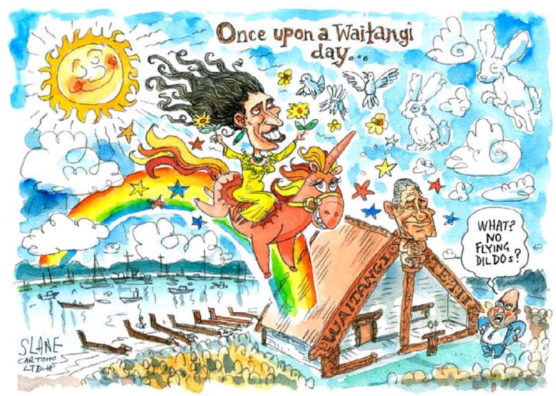 Slane - Listener 9 February 2018 Waitangi Jacinda Ardern Joyce