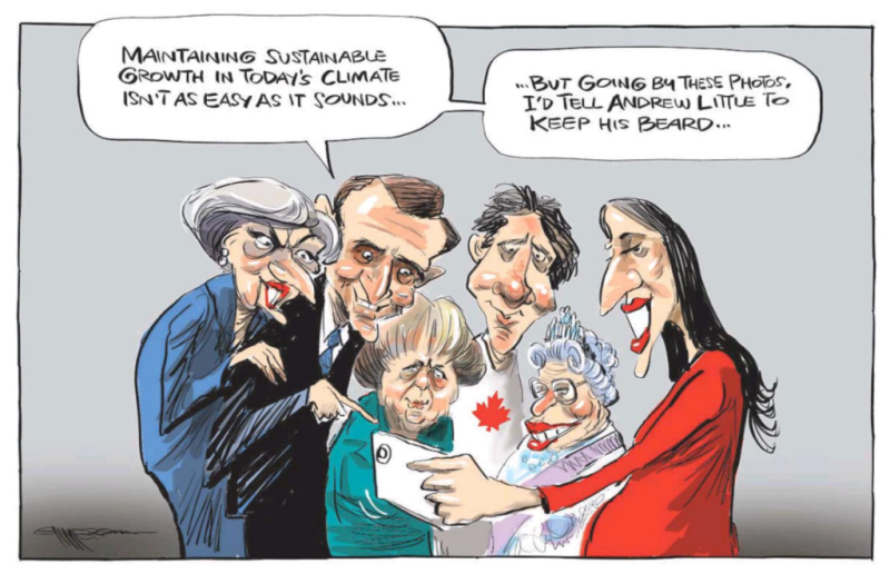 Emmerson - NZ Herald 18 April 2018 Andrew Little Jacinda Ardern