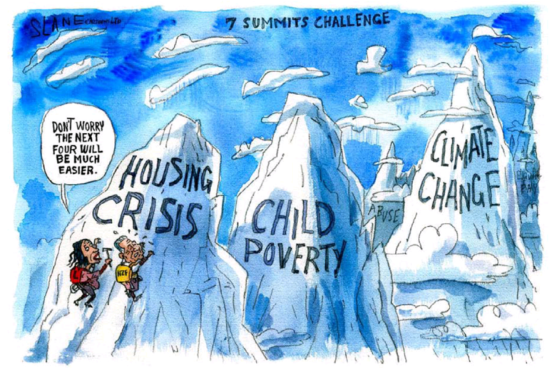 Slane - Listener 2 March 2018 Labour coalition housing poverty inequality