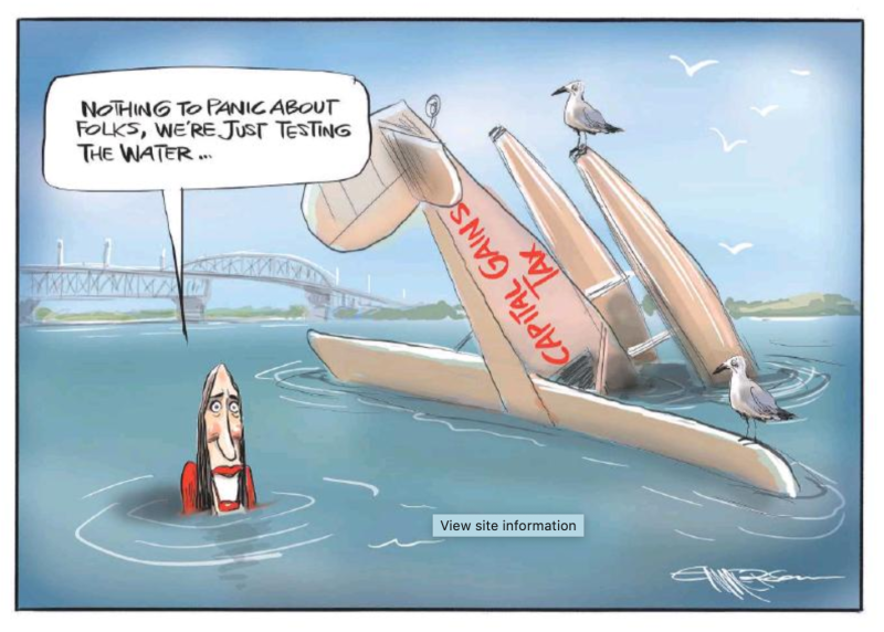 Emmerson - NZ Herald 2 March 2019 Ardern capital gains tax
