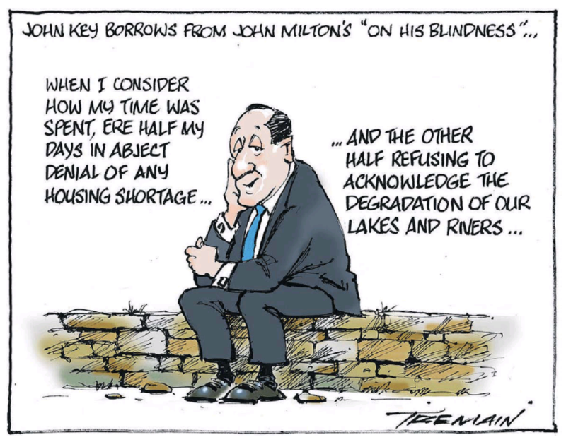 Tremain - ODT 29 January 2019 John Key National housing environment