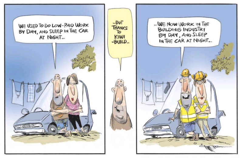 Emmerson - NZ Herald 25 January 2019 KiwiBuild housing employment