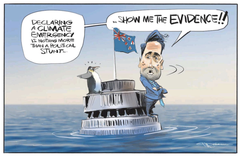 Emmerson - NZ Herald 4 July 2019 Bridges climate change
