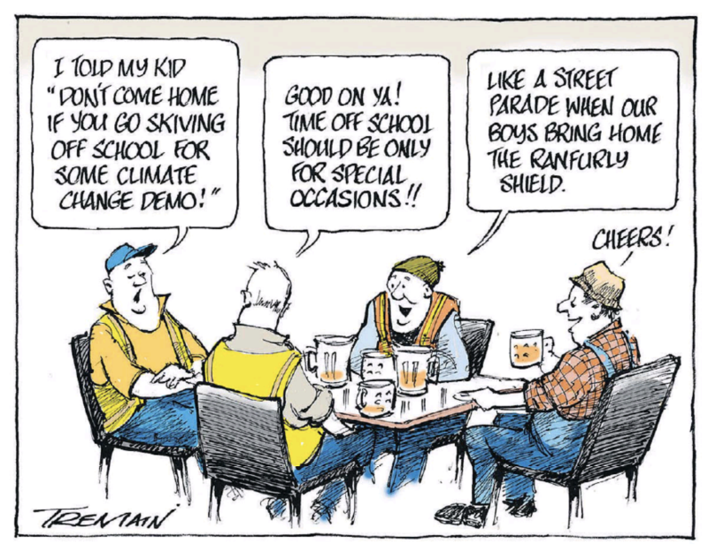 Tremain - ODT 15 March 2019 climate change
