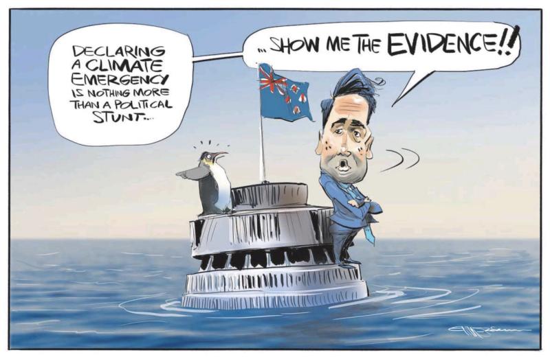 Emmerson - NZ Herald 4 July 2019 Bridges climate change