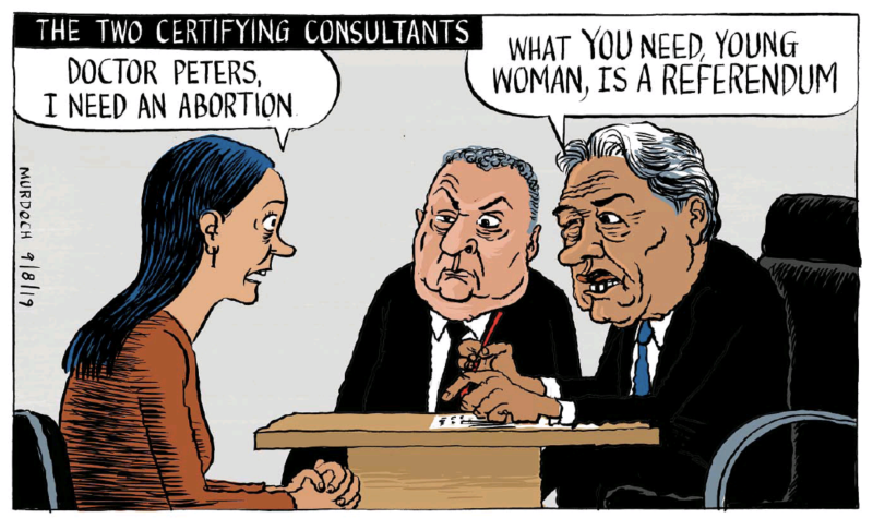 Murdoch - Stuff 9 August 2019 abortion NZ First Winston Peters referendum copy