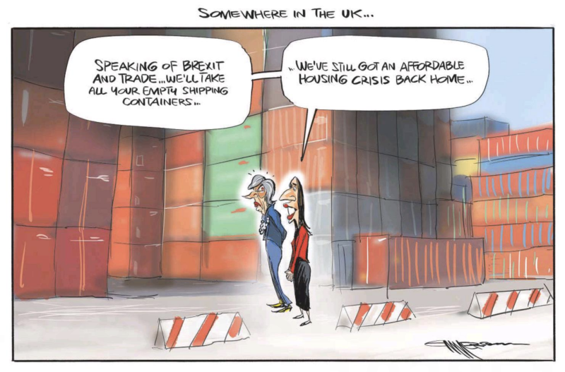 Emmerson - NZ Herald 22 January 2019 housing brexit Ardern