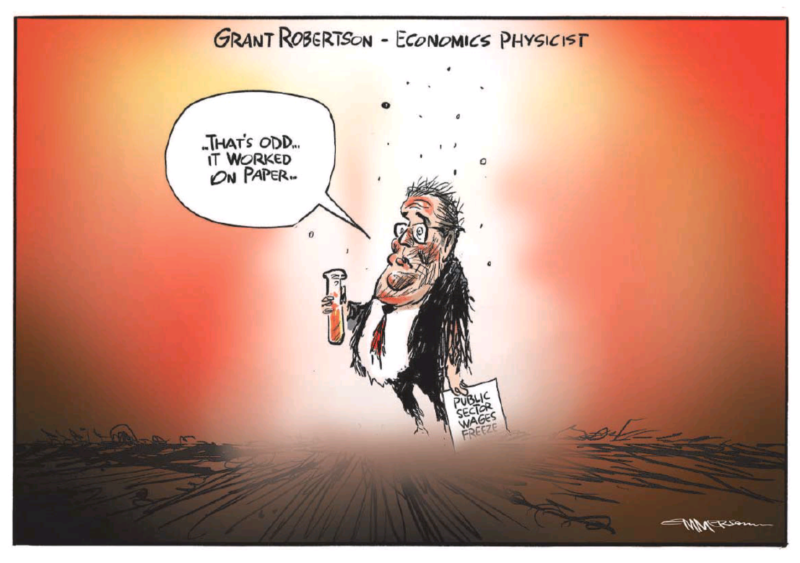 Emmerson - NZ Herald 9 May 2021 Government Robertson pay inequality unions