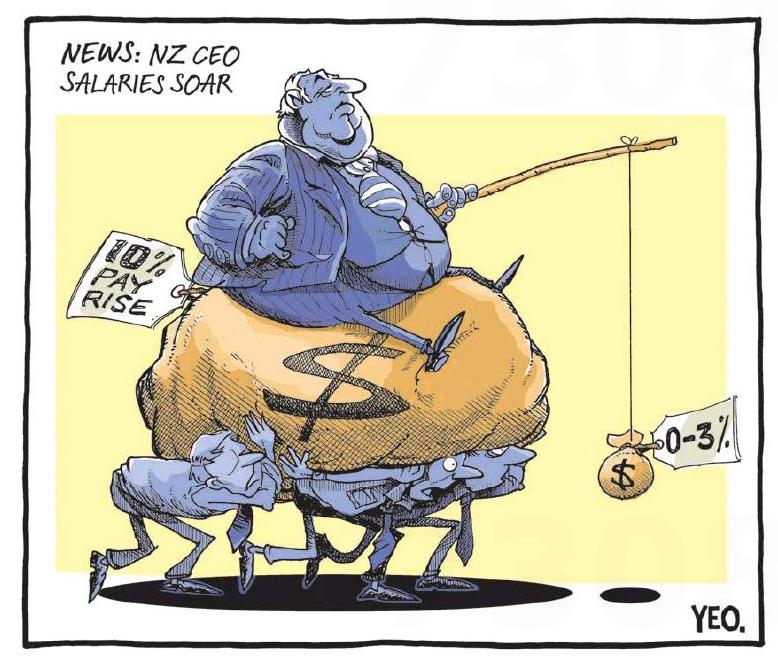 Yeo - Sunday News 21 June 2015 inequality CEO pay