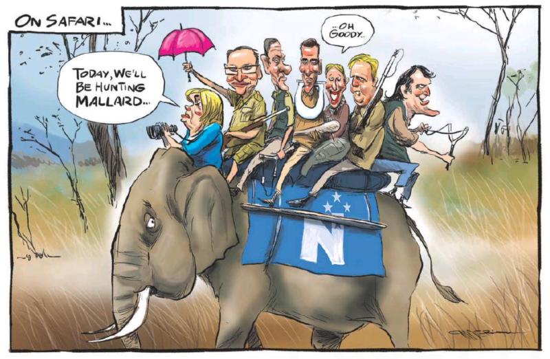 Emmerson - NZ Herald 9 February 2021 National Parliament Mallard
